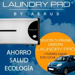 banner conoce laundry pro en tu casa