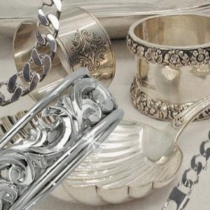 piezas de plata Limpiar plata