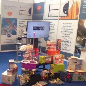 Feria de Muestras de Asturias stand Laundry Pro