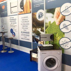 stand laundry pro en la feria de muestras de asturias