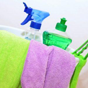 Los productos de limpieza dañan los pulmones