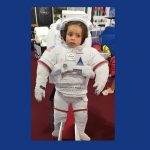 Ganadora del sorteo astronauta Laundry Pro en FIDMA 2018 foto