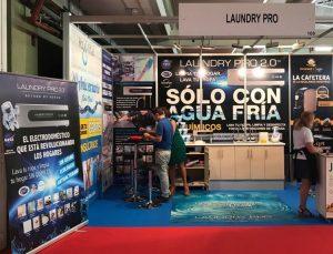 Stand expositor Laundry Pro en la 84 Feria de Muestras Valladolid