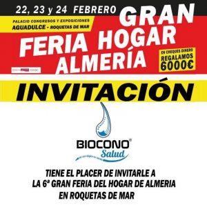 Laundry Pro en la Gran Feria del Hogar en Almería Biocono Salud